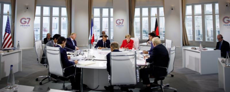 G7 ledarna i Biarritz