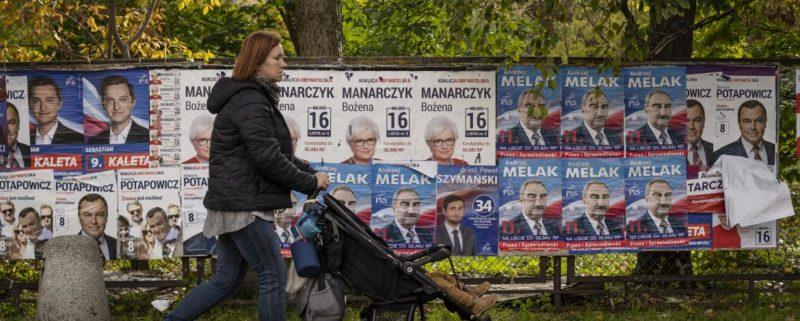 valaffischer i Polen