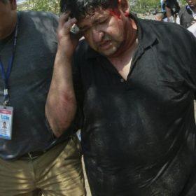 Journalister i Bolivia attackeras