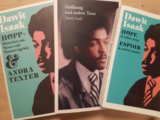 Bild på Dawit Isaaks bok