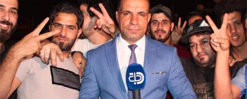 journalist i Irak