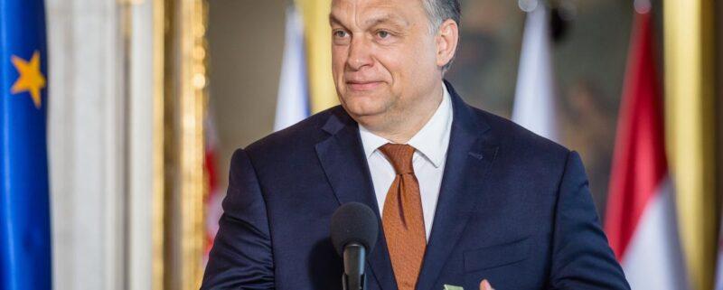 Ungerns president Viktor Orban/ AFP