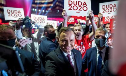Andrzej Duda, outgoing Polish President (photo:AFP)