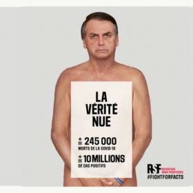 fotomontage Bolsonaro Naked truth