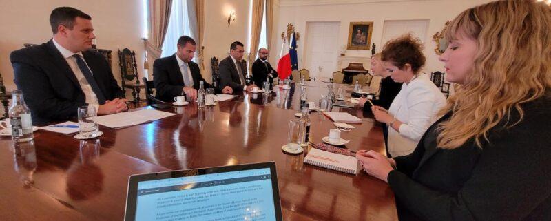 gemensamt pressfrihetsuppdrag på Malta